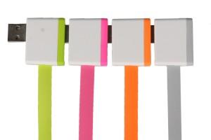 USB kabel de luxe 4 stuks